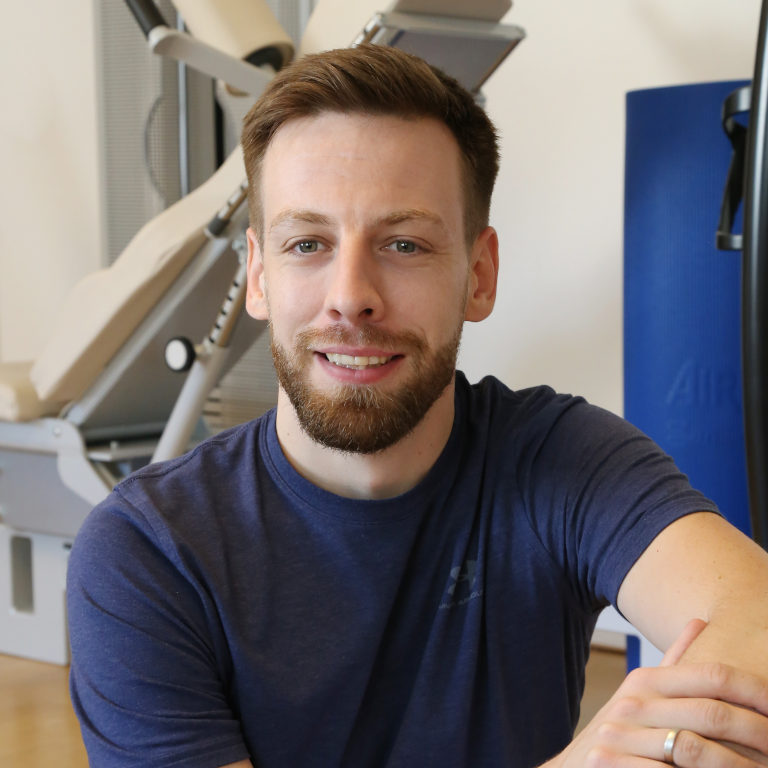 Portrait von Physiotherapeut und Heilpraktiker Matthias Hähnel